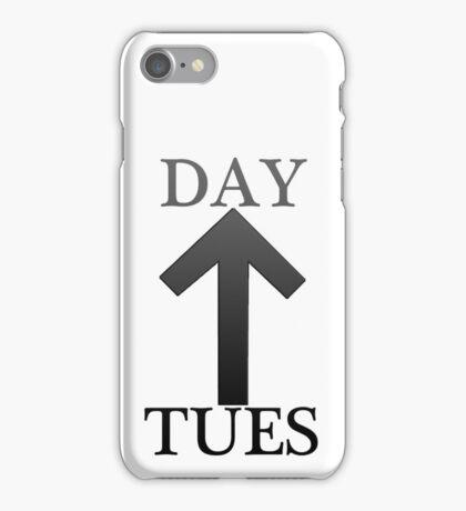 "TUES ""tiwaz"" DAY  iPhone Case/Skin"