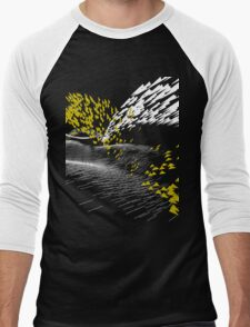 Golden Birds (white) Men's Baseball ¾ T-Shirt