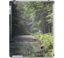 Morninglight in the forest iPad Case/Skin