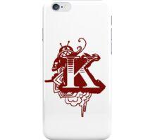 'K' initials iPhone Case/Skin