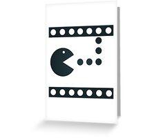 Pac-Mac Movie Film Greeting Card