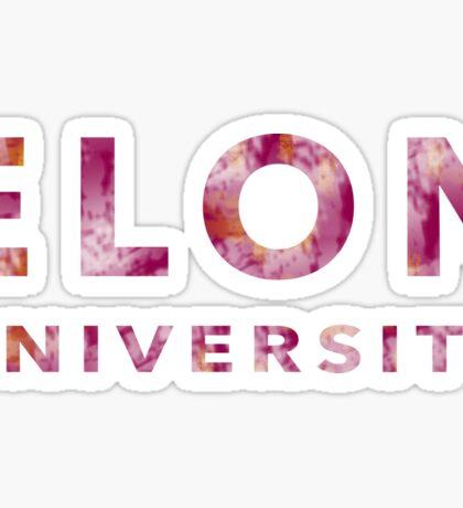 Elon University Sticker
