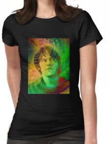 Elliott Smith Figure 8 Psychadelic Womens Fitted T-Shirt