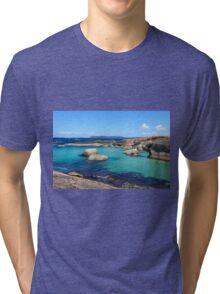 Elephant Rocks, Denmark WA 02 Tri-blend T-Shirt