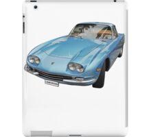 Vintage Italian Sports Car iPad Case/Skin