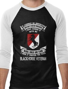 Military - Blackhorse The Title Men's Baseball ¾ T-Shirt