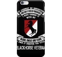 Military - Blackhorse The Title iPhone Case/Skin