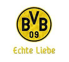 Borussia Dortmund Echte Liebe Photographic Print