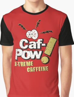 Caf-Pow - Spatter Distressed Variant Graphic T-Shirt