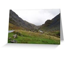 Honister Pass, Lake District National Park, UK Greeting Card