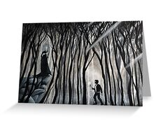 """""""The Forbidden Forest"""" Greeting Card"""