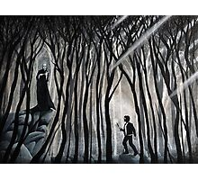 """""""The Forbidden Forest"""" Photographic Print"""