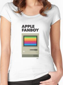 Apple Funboy Women's Fitted Scoop T-Shirt