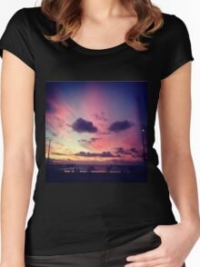 Glenelg Beach, Australia Women's Fitted Scoop T-Shirt