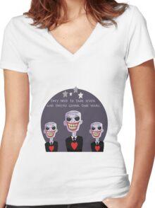 The Gentlemen Women's Fitted V-Neck T-Shirt