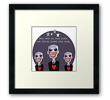 The Gentlemen Framed Print