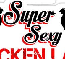 super-sexy-chicken-lady Sticker