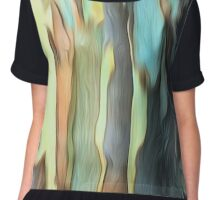 Abstract colours of the Bush Chiffon Top
