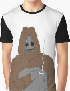 SASSY the Sasquatch | Big Lez Show | Official Graphic T-Shirt