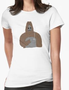 SASSY the Sasquatch | Big Lez Show | Official Womens Fitted T-Shirt