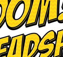 BOOM, Headshot Sticker