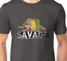 cave man savage spongebob Unisex T-Shirt