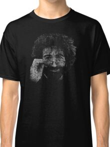 "Jerry Garcia ""Dark Star"" Text Image - Grateful Dead Classic T-Shirt"