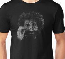 "Jerry Garcia ""Dark Star"" Text Image - Grateful Dead Unisex T-Shirt"