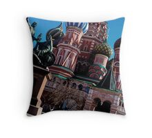 Strong colors of spring. Throw Pillow