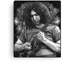 "Jerry Garcia - ""Young Dark Star"" 1967 Grateful Dead Canvas Print"