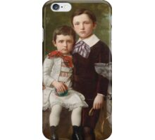 Just Jean Christian Holm (), siblings with their faithful the protector iPhone Case/Skin