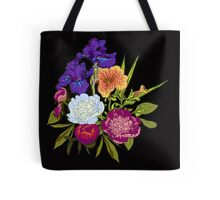 Floral Graphic Design Tote Bag