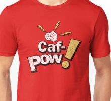 Caf-Pow - Distressed Spatter Logo Variant Unisex T-Shirt