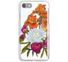 Floral Graphic Design iPhone Case/Skin
