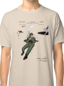 Combat Suit Patent - Colour Classic T-Shirt