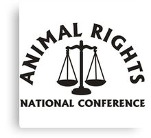 Animal Rights Canvas Print