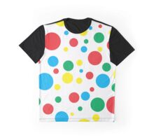 Colourful Polka Dots Graphic T-Shirt