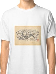 historical oriental drawing Classic T-Shirt