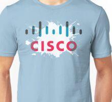 Cisco Logo Splat Unisex T-Shirt