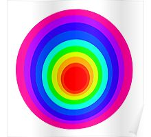 Colorful Spirals Poster