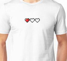 Zelda Life Hearts Unisex T-Shirt