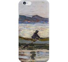 Vintage famous art - Vassily Kandinsky - Rapallo Boot Im Meer  iPhone Case/Skin