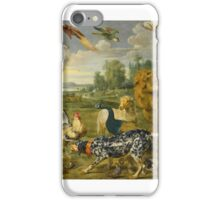 Paul de Vos, Jan Wildens THE GARDEN OF EDEN iPhone Case/Skin