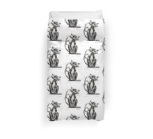 Boris the cat Duvet Cover