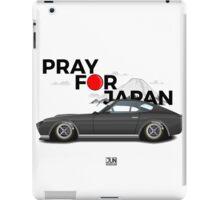 Pray For Japan 260z Render iPad Case/Skin