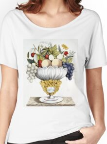 Fruit vase - 1847 - Currier & Ives Women's Relaxed Fit T-Shirt