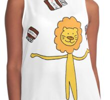 The lion with the nutella Contrast Tank