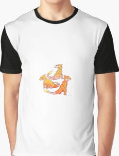 Realistic charmander pokemon Graphic T-Shirt
