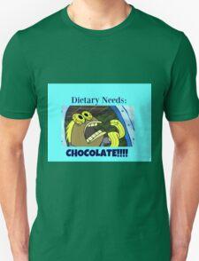 Spongebob - Dietary needs = CHOCOLATE! T-Shirt