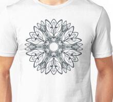 Abstract circular pattern of mandala Unisex T-Shirt